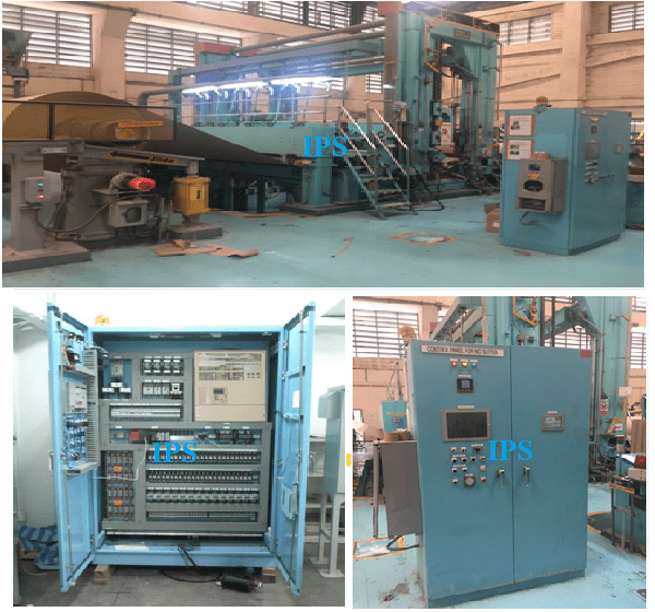 Control System for Slitter Machine (IHI) (Siam Kraft Paper)