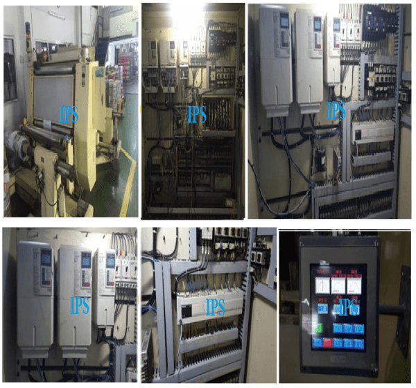 Modification Control Equipments for Winder Machine(Futect) (Print Master)